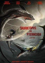 八爪狂鲨大战梭鱼翼龙