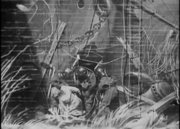 潜水员在缅甸号残骸上工作