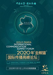 2020年金熊猫国际传播高峰论坛