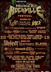 2015美国Welcome To Rockville摇滚音乐节
