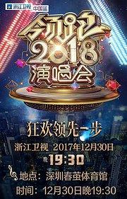 2018浙江卫视跨年晚会