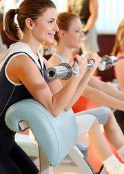 健身房器械训练合集