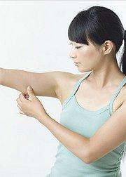 健身动起来:快速减掉蝴蝶袖