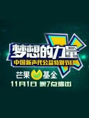《梦想的力量》中国新声代公益特别节目