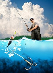 钓鱼小知识