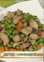 140804食来运转:青豆炒脆鱼