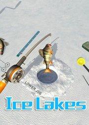 阿雷实况冰湖钓鱼