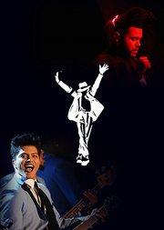 迈克尔·杰克逊影响的歌手