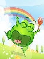 绿豆蛙情景动画