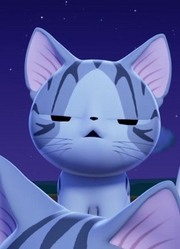 小猫被外星生物吓坏 整只猫都不好了