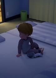 洋平发现小琪陪在身边 这床是真的大
