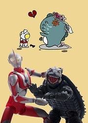 奥特曼和小怪兽的幸福生活