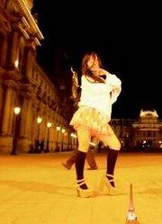 【舞见】法国巴黎的卢浮宫艺术馆前【柊木rio】