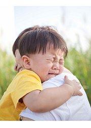 宝宝啊,被你感动到落泪就在一瞬间