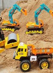 工程车玩具户外玩工程车挖掘机推土机汽车玩具