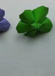 互动折纸:纸制小树苗