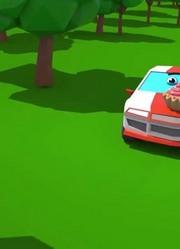 警车和赛车:儿童汽车和卡车故事
