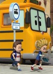 变形警车珀利 交通安全篇 英文版