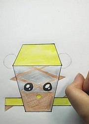 机器人争霸手绘屋