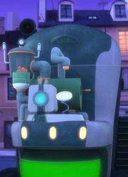 废睡衣小英雄 第22集 飞壁侠与丢失的飞壁侠机动车