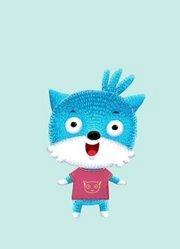 蓝猫疯狂英语之唱歌的绘本