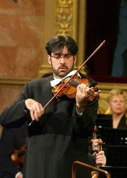 2005年欧洲音乐会布达佩斯演奏现场,西蒙·拉特尔爵士指挥柏林爱乐乐团