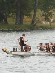 多瑙河上赛龙舟