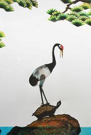 皮影戏《龟与鹤》