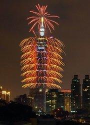 2013台北101大厦焰火表演(4K)