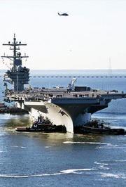 世界最强航母入役美军