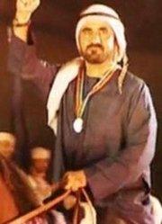 迪拜酋长的日落日出