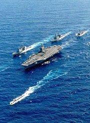 中国航母编队的排头兵