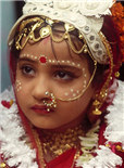 赞比亚的童婚女孩