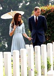 威廉王子和凯瑟琳