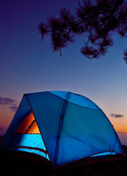 天上的帐篷村