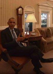奥巴马在白宫最后的日子