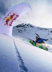 《雪域精灵》|极限挑战:滑翔伞滑雪