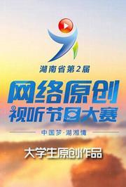 湖南省第二届网络原创视听节目大赛(大学生原创作品)