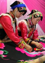 羌绣 发现羌族文化古韵