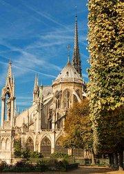 再也看不到巴黎圣母院美景