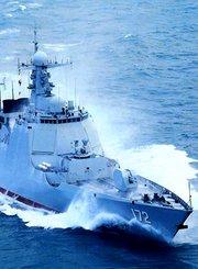 中国海军深入波罗的海