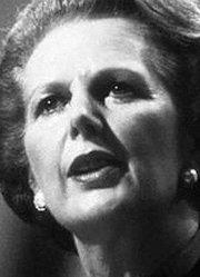 世纪谈判中的撒切尔夫人
