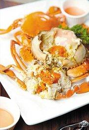 黄金软壳蟹