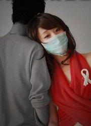 艾滋徒步行 请给艾滋病患者一个拥抱