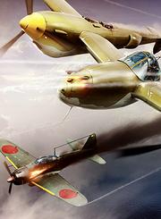 闪电呼啸:P-38