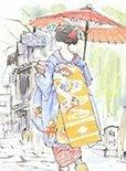 京都文化精髓--京友禅模板之美