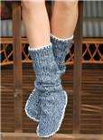 微在涨姿势:旧毛衣不要扔,变成地板袜也是棒棒哒
