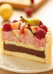 经典英式香草切片蛋糕